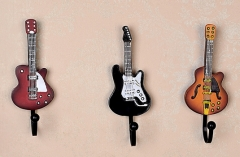Guitar Clothes Hook Decoration Resin Material Hand...