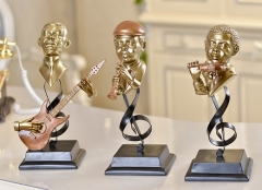 Music Artist Decoration Resin Material Holiday Gif...