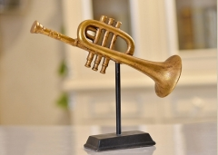 Musical Instruments Decoration Resin Material Holiday Gift Interior Decoration