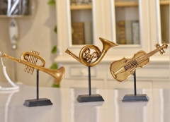 Musical Instruments Decoration Resin Material Holi...