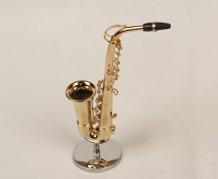 Mini Alto Saxophone Mould 16cm Mini Musical Instruments Holiday Gift