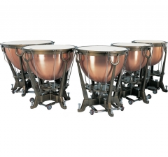 Timpani Professional cooper Bowls Rack system Size...