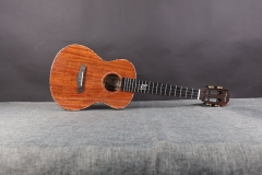 23inch Ukulele Enya K5 Solid Tiger-stripe Koa Hawai Guitar 26inch String Musical instrument supplier