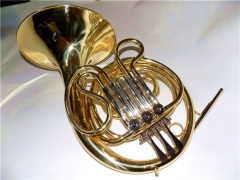 Junior French Horn Three Valve Keys Brass Body Ins...
