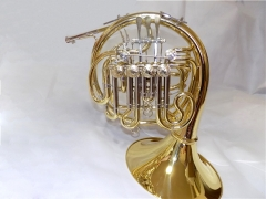 Bb/F/High F Triple Horn Yellow brass Body With Fib...