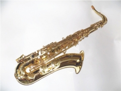Bb Tenor Saxophone Yellow Brass Body Musical instr...