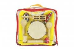 Orff musical instruments set tambourine fingercymb...