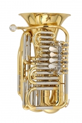 Mini Travel Tuba Bb,C,Eb,F key Musical instruments...
