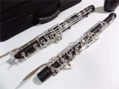 Ebony English Horn Semi-auto Silver plated keys Musical instruments online sale