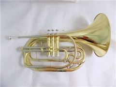 Marching French Horn Bb Tone Brass musical instrum...
