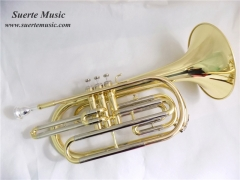 Marching Trombone Bb Tone Brass musical instrument...