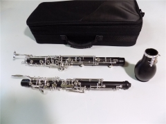 Ebony English Horn Semi-auto Silver plated keys Mu...