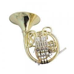 F/Bb French Horn Four Flat Double Row Musical inst...