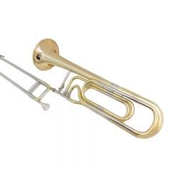 F/Bb Double Slide Trombone Lacquer Musical instrum...