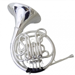 F/Bb 4 Valve keys Double row French Horn Yellow Br...