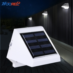 Hooree SL-20A 4 LED Decorative Solar Wall Lamp