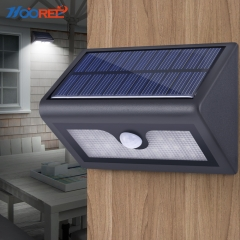 Hooree SL-840 38 LED Dimable Motion Sensor Solar Wall Lamp