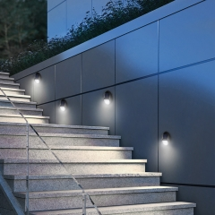 Hooree SL-870 Decorative Cheap Price Led Solar Wall Mounted Garden Light Pathway Lighting