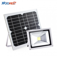 Hooree SL-310F 20W LED Solar Flood Light + Constant Light + Light Control
