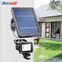 Hooree SL-310E 3W Integrated LED Solar Flood Light with Motion Sensor