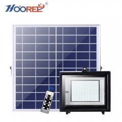 SL-385 18W 27W 40W 50W LFP Battery Outdoor IR Remote Control Flood Light with Timing Function