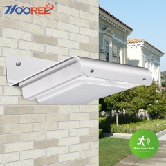 Hooree SL-10P1 16 LED Solar Wall Lamp + Motion Sensor + Dim light + Light Control