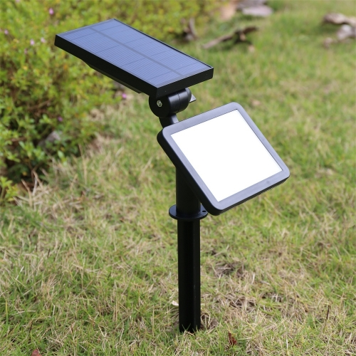 Hooree SL-50C 48 LED Super Bright Adjustable Angle Radar Sensor Solar Wall Lamp