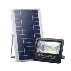 SL-387 25W 40W 60W 100W LED LFP Battery Outdoor IR Remote Control Flood Light with Timing Function