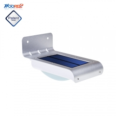 Hooree SL-10P 16 LED Waterproof Motion Sensor Solar Wall Lamp