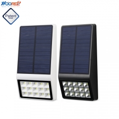 Hooree SL-860B 15 LED Outdoor Super Bright Microwave Induction with Dim Light Solar Wall Lamp