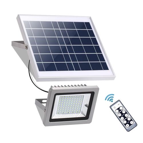 Remote Solar Led Flood Light Dusk To