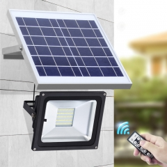 SL-382 10W 15W 20W 30W 40W 50W 60W LED LFP Battery IR Remote Control Solar Flood Light