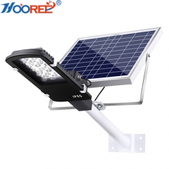 Hooree SL-610B IP 65 24W Bridgelux Dual Chip LED Remote Control Solar Street Light