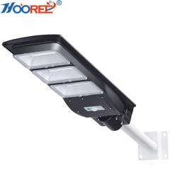 30W 65W 100W 130W 150W cheap price integrated all in one PIR motion sensor remote solar power led street light