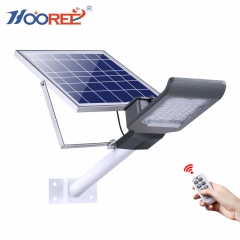 Hooree factory direct SL-680 20W 30W 40W 50W 100W SMD 3030 LED remote control solar street light