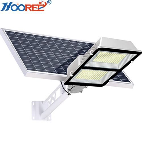 China Solar Light Factory Hooree SL-622 Motion Sensor All In One Solar Street Light 75W 90W 150W 180W