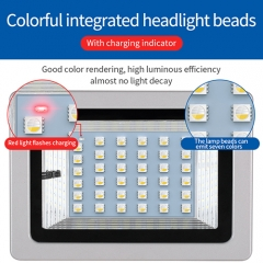 Hooree SL-393 RGB Faded Color Changing Solar LED Flood Light 36LED 18W Garden Outdoor Lighting Decoration