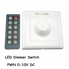 LED Dimmer Infrared 12-Key Triac Dimmer 110V 220V Knob Triac LED Dimmer Switch  for E27 GU10 Dimmable Bulb/Spotlight/ Downlights