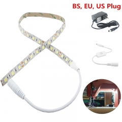 LED Sewing Lighting Kit 60cm Sewing Machine Strip Light with DC Connector, AC Adapter Fit for All Sewing Mahines Lighting