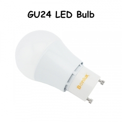 GU24 LED Bulb A19 Shape 5W 9W GU24 LED Light Bulb Pendants, Table Lamps, Display Lighting
