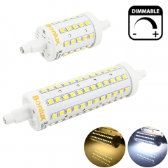 Dimmable R7S LED 78mm 118mm Light Bulb 5W 10W J78 J118 LED Corn Bulb Replace Halogen Security Floodlight 360 Degree Lighting