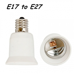 10PCS High Quality E17 to E26 E27 LED Lamp Light Base Socket Adapter Converter for E26 E27 LED Halogen CFL Bulb