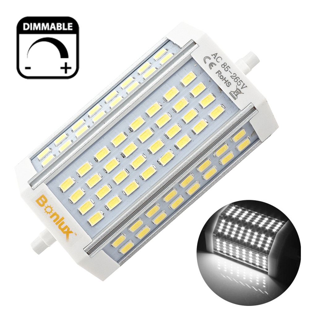 Led r7s 30w dimmable light bulb double ended j type j118 for R7s 150w led