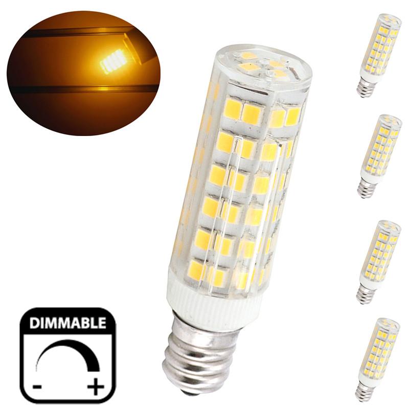 6w E12 Candelabra Led Bulbs 50w Equivalent T3 T4