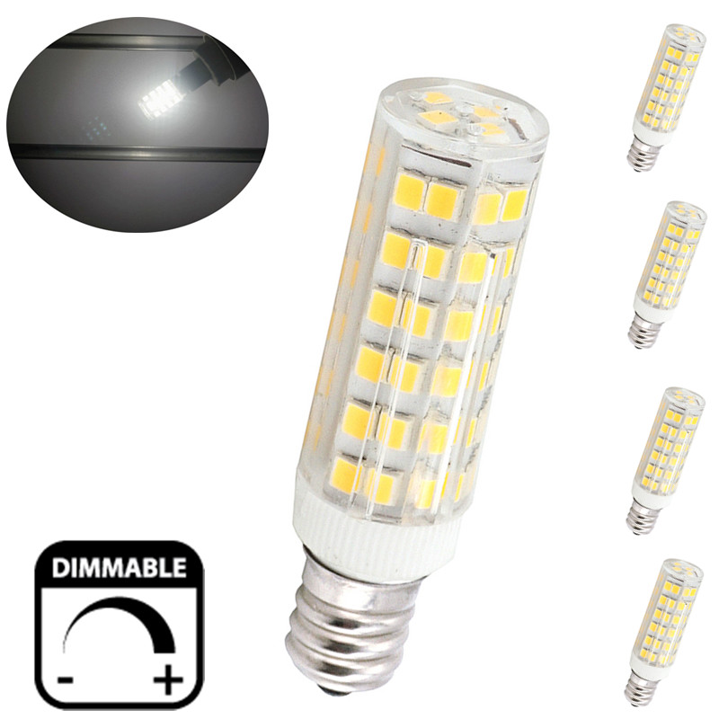 6w E12 Candelabra Led Bulbs 50w Equivalent T3 T4