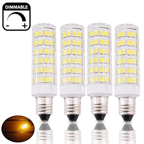Mini Candelabra Base Led Bulb: 6W Dimmable Mini-Candelabra Edison Screw Base E11 LED