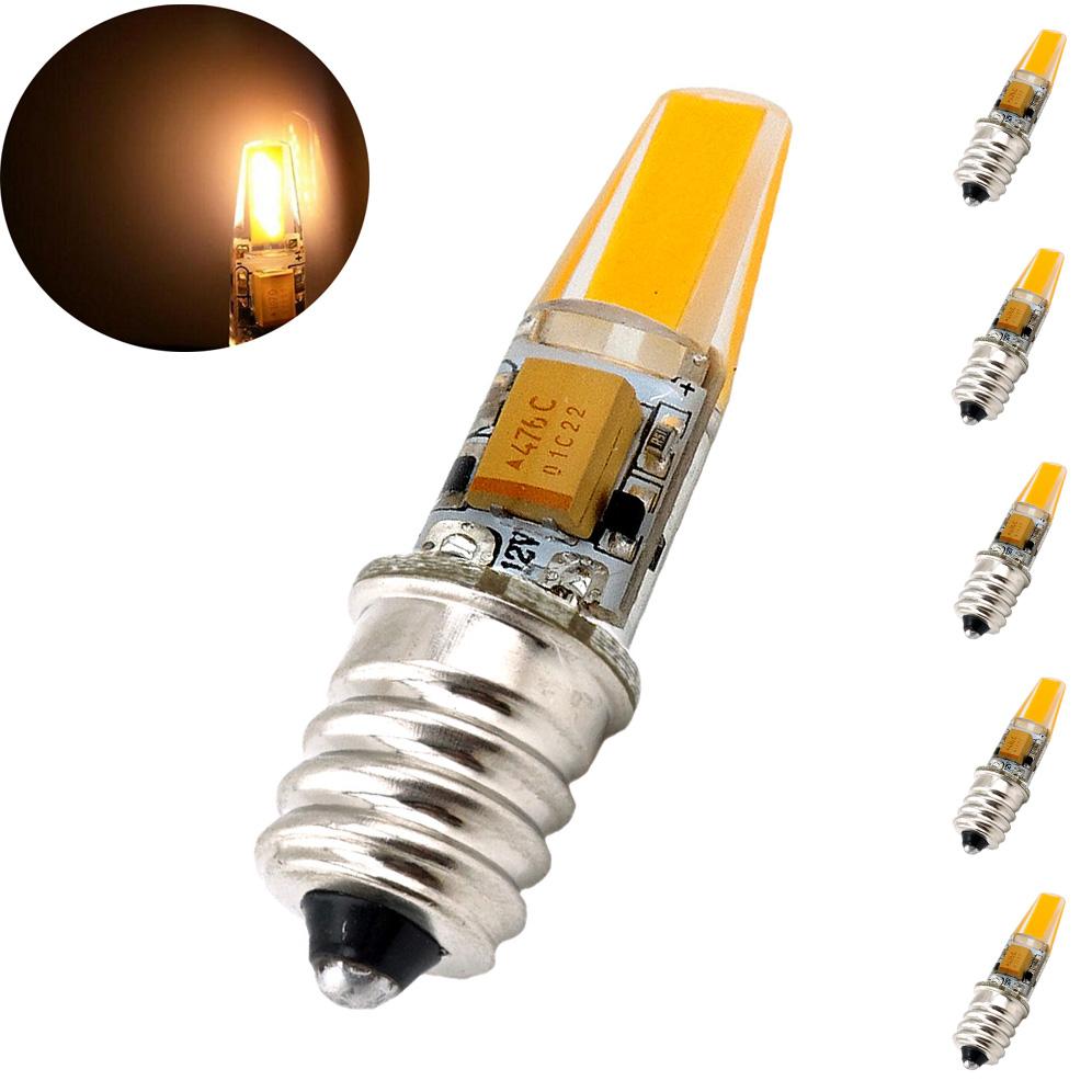 12V E12 LED Light Bulb 2W Omni-directional Candelabra Bulb