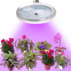 UFO LED Grow Light Bulbs 8W E27 Full Spectrum Plant Grow Lamp Red Blue Plant Growing Light for Greenhouse Bonsai Hydroponic Indoor Plants Garden