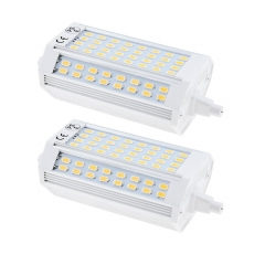 25W R7s LED Floodlight Bulb 118MM 200 Degrees Double Ended J118 R7s LED Lamp 200W Halogen Replacement (Non-dimmable, 2-Pack)