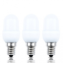 0.5 Watts LED C7 Night Light Bulb Candelabra E12 Base LED Accents Light C7 Decorative Lights 10W Incandescent Replacement (Pack of 3)